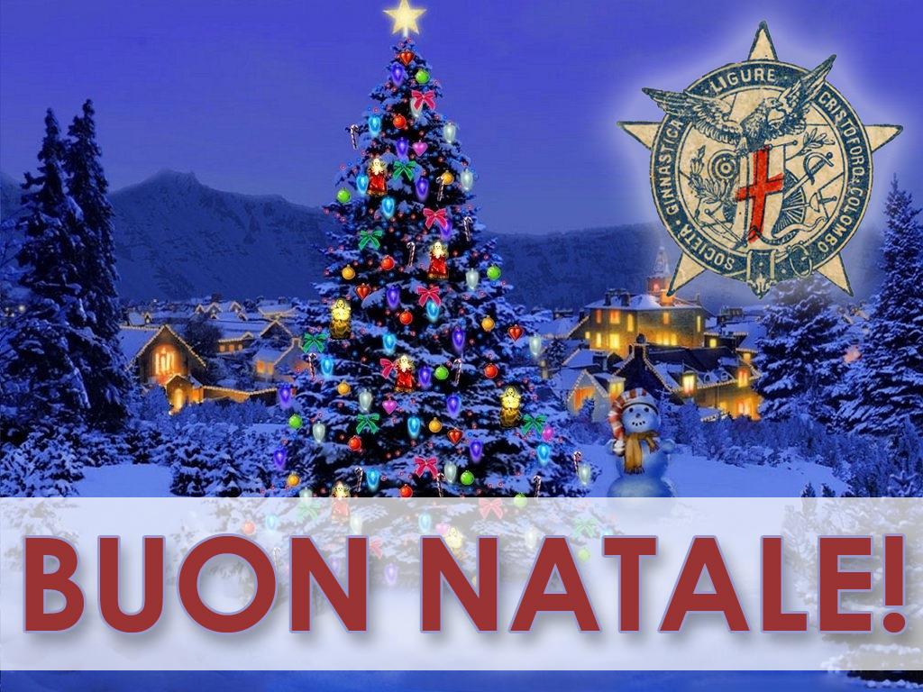 Immagini Natale 1024x768.Buon Natale Circolo Cristoforo Colombo Genova